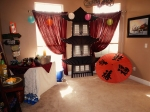 Sayonara Party 2013, asian pagoda theme party props
