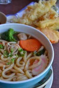 Delicious Udon Soup.  It awaits me somewhere in Okinawa....