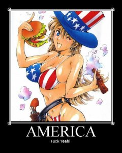 Team American Anime, courtesy of the Japanese