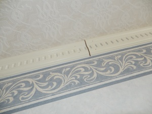 Crown Molding.  Not quite fit or royalty.