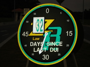 "Who remembers the infamous ""DUI Clock""??"