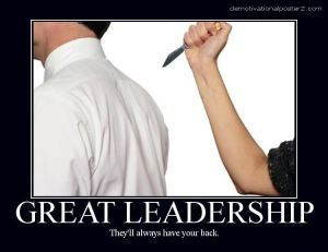 leaders have your back