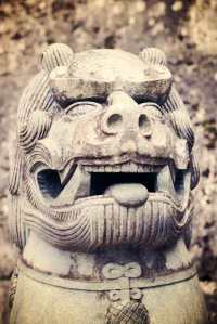 A Chinese Shishi Lion