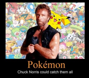 Chuck Norris is Mew's Ancester