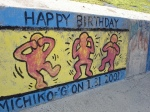 Non-Evil Birthday Graffiti