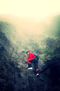 Climbing Up Into the Nasty-Ass Weather