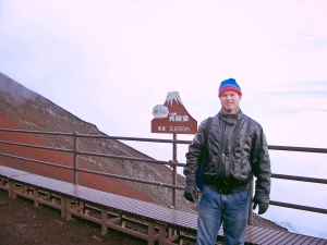Wet and Nearly Frozen Above the Clouds at 10,000 Feet