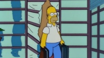 Homer is Unfortunately Banned after his foray into the Far East