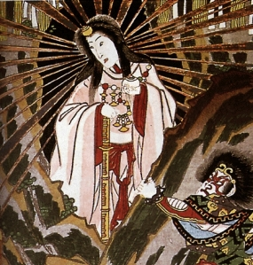 Asian Sun-Goddess Amaterasu