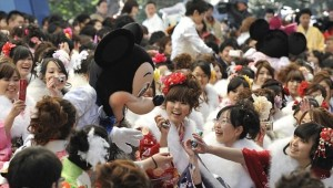The Japanese are NEVER too old for Mickey....