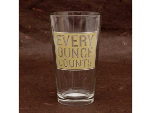 Oops.  This pint-sized glass if for another type of drink....