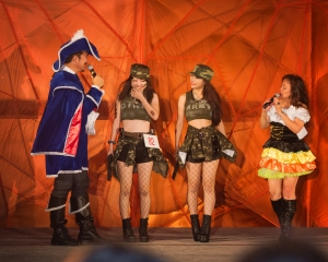 Okinawa Oct 2013, Mihama Halloween, fencenet hose and combat boots are hot!!