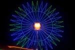 Okinawa Oct 2013, Mihama Halloween, ferris wheel at Carnival Park Mihama