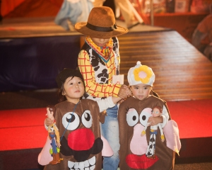 Okinawa Oct 2013, Mihama Halloween, toy story