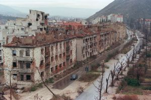 Bosnia devastation; might as well by 1944