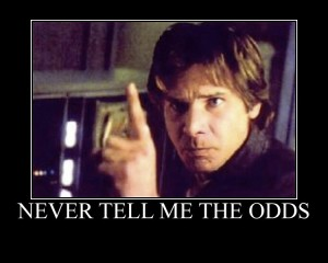 This is especially true when attempting to navigate an asteroid field....