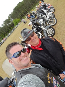 "My Bestest Biker-Bud and Mentor:  ""T"""