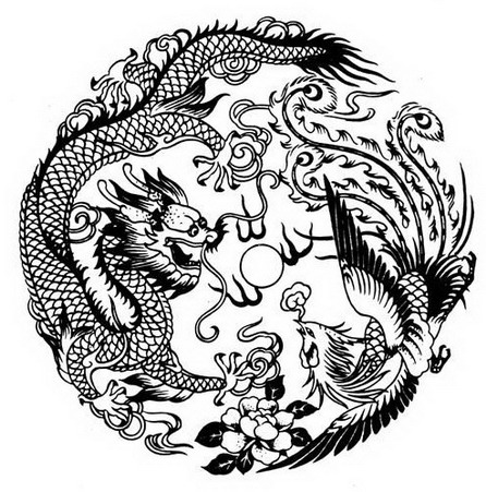 phoenix and dragon tattoo meaning