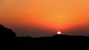 Our FIRST sunset of the New Year in Itoman