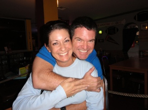 Jody and I back in September 2010 when I had a Great, Big Secret