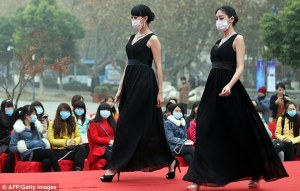 There really should be a black mask to go with those formal gowns....