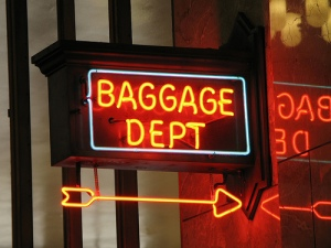 We all have baggage.