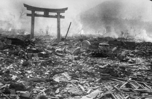 Devastation at Nagasaki