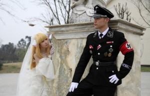 Nothing Noble about this CosPlay Wedding in Japan.