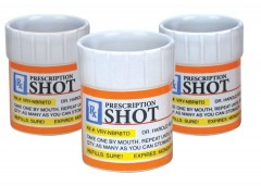 Shots are not treated as drugs.