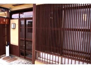 The Entrance to Our Seuin-An Machiya