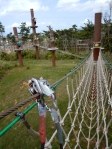 Okinawa Forest Adventure 2014, Adventure Course net bridge