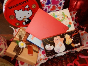 Okinawa White Day 2014, gifts for my Desi D (desideratum)