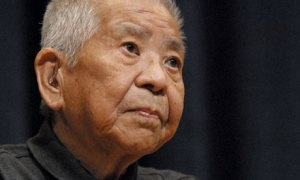 Tsutomu Yamaguchi-san, the first officially recognized survivor of BOTH atomic blasts in Japan.