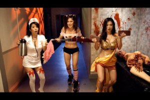 "The Japanize movie ""Zomboobies"" was not a winner.  Yes, it's a real movie...."