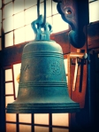 Kyoto Japan Winter 2014, Shunko-in Temple, 16th century church bell (holga)