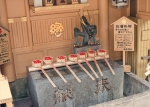 Kyoto Winter 2014, Kiyomizu-dera (清水寺), Jishu Shrine of Ōkuninushi god of love, shrine's cleansing waters