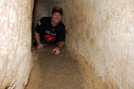 Playing tunnel rat in the Coo Chi tunnels