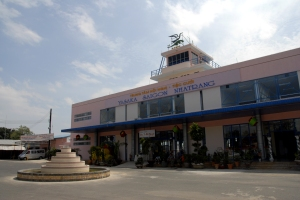 The old terminal building at Nha Trang