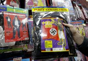 """Nothing says """"party"""" like dressing up as a Nazi."""