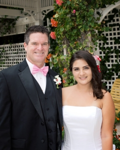 Naomi's Wedding 2014, my daughter the bride and I