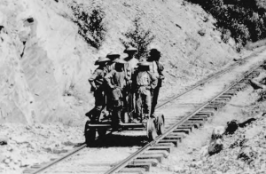 Chinese Indentured Servants built most of America's Railroad