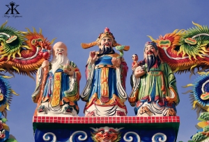 Ishigaki Vacation 2014, Toujin Grave, Chinese wise men adorn the tomb WM