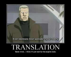 Machine Translations can be Ridiculous.