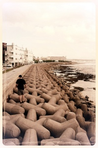 Sunabe Seawall, a special place for my whole family.