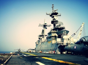Afloat on the USS Essex 2004-2005