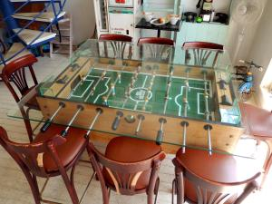 Okinawa Eats April 2014, Kupu Kupu, american-style retro tabletop games