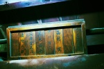 Traditional wooden nameplates of Maiko