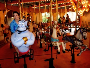The double-decker carousel is a must-do!