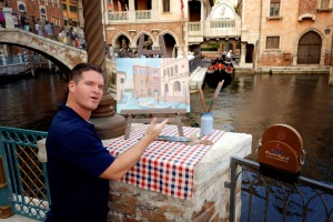 "Kevin at DisneySea's ""Venice"""