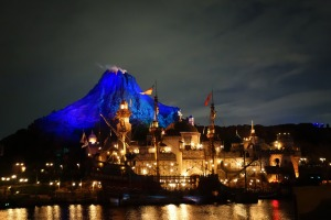 The lagoon at DisneySea.